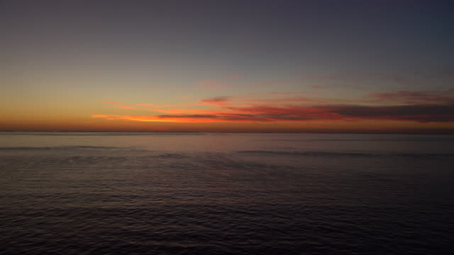 vidéos et rushes de sunset pan - horizon