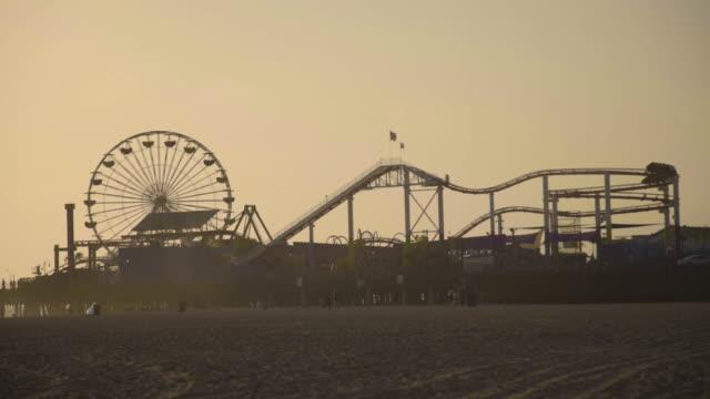 Sunset - Santa Monica Pier
