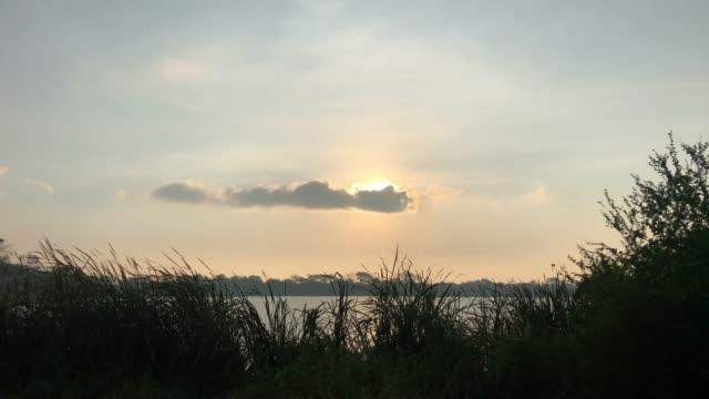 Sonnenuntergangsszene