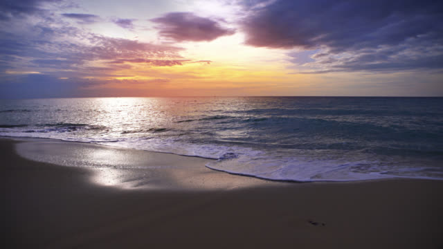 sunset. sea. beach - perfection stock videos & royalty-free footage