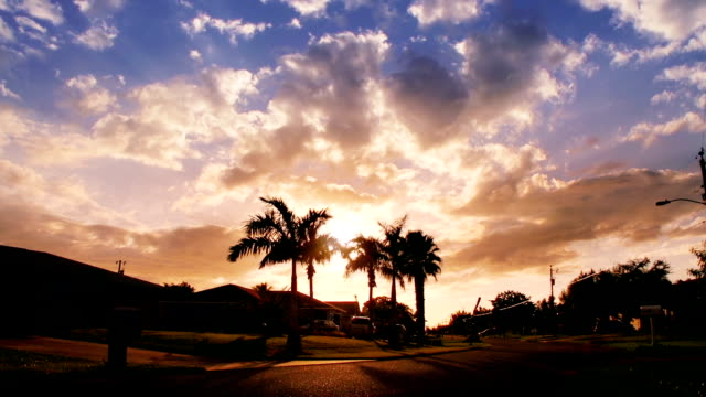 sunset sky, florida - cape coral stock videos & royalty-free footage