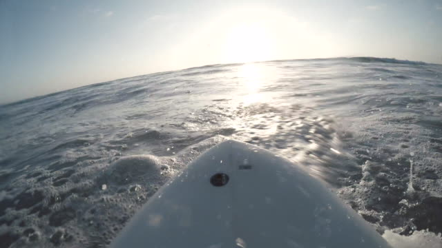 sunset surfing - surfboard stock videos and b-roll footage