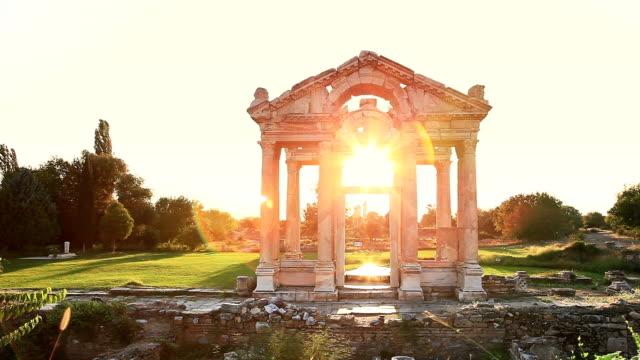 HD: Sunset Tetrapylon of Aphrodisias