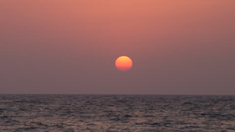 sunset, time lapse on the red sea. - jiddah stock videos & royalty-free footage