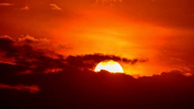 sunset time lapse - ordentlich stock-videos und b-roll-filmmaterial
