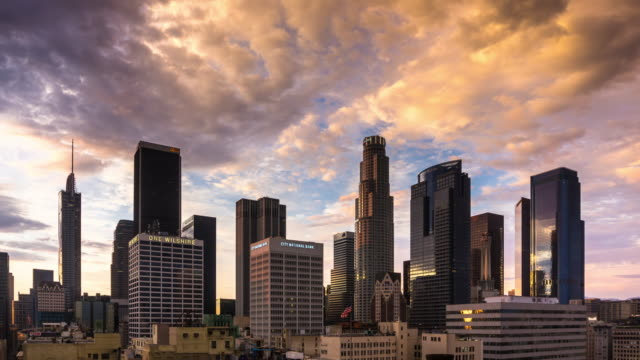 DTLA Sunset - Time Lapse