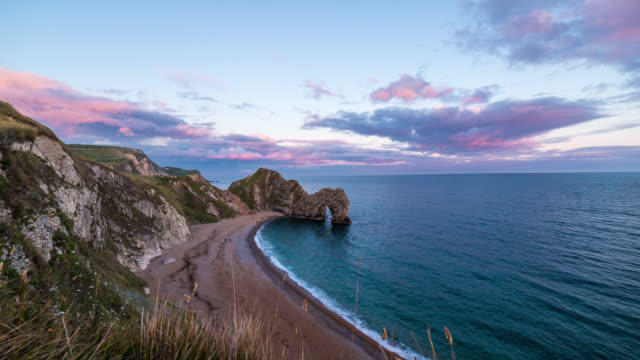DURDLE DOOR - TL: Sunset TimeLapse at the Durdle Door
