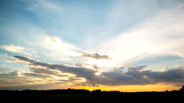 sunset timelapse - appearance stock videos & royalty-free footage