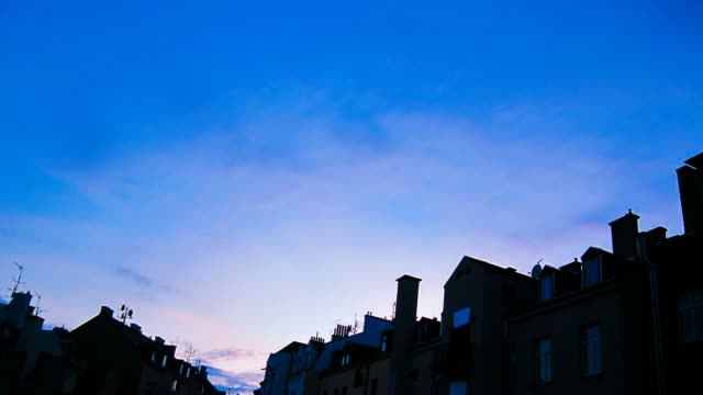 sunset timelapse - dusk to night stock videos & royalty-free footage