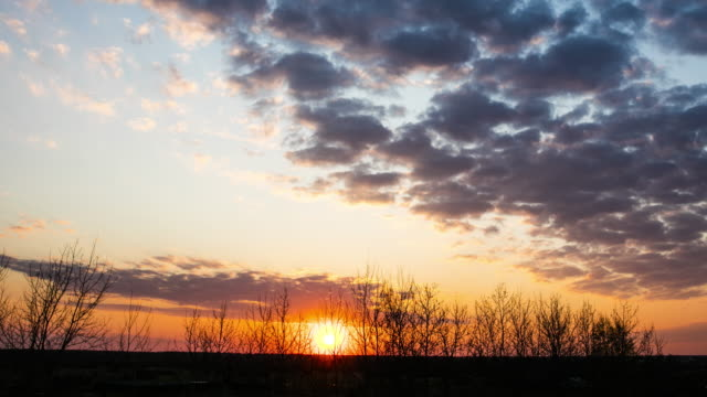 sunset timelapse - sunset to night stock videos & royalty-free footage