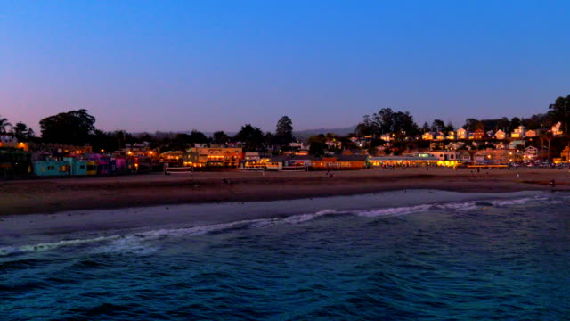 sunset - santa cruz california stock videos and b-roll footage
