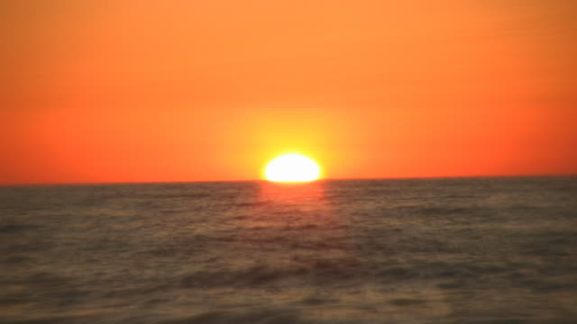 sunset - seascape stock videos & royalty-free footage