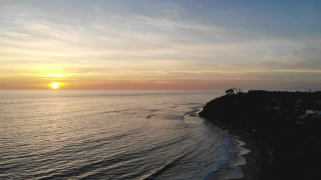 sunset - carlsbad california stock videos & royalty-free footage