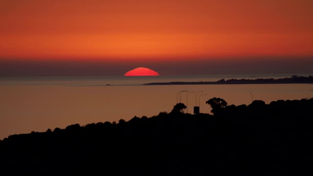 Sunset View at Aphrodite's Birthplace, Cyprus