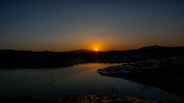 Sunset view of Yeongjong-do Island (famous travel destinations)