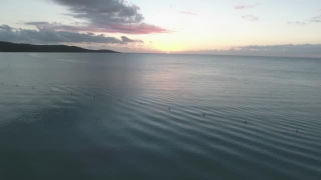 Sunsetting on Caribbean
