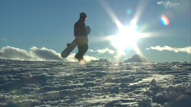 sunshine in the beautiful ski resort kronplatz - dolomiti video stock e b–roll
