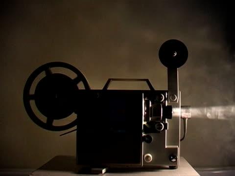 vidéos et rushes de super 8 - image projetée
