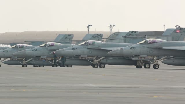 Super Hornets with Strike Fighter Squadron 115 EA18G Growlers with Electronic Attack Squadron 141 and F/A18E Super Hornets with Strike Fighter...