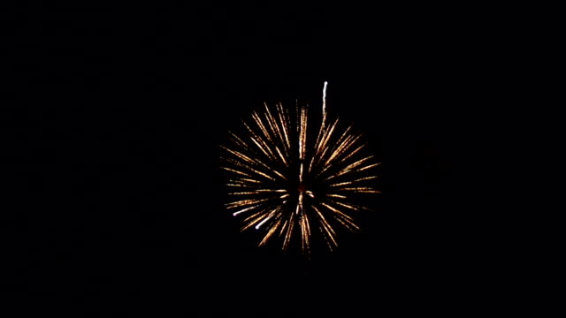 Super Slow Motion HD - Firework in the sky