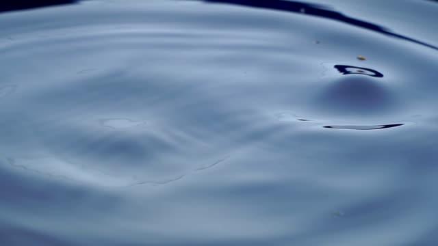 Super Slow-Motion von Wassertropfen.