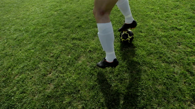 HD Super Slow-Mo: Dribble A Soccer Ball