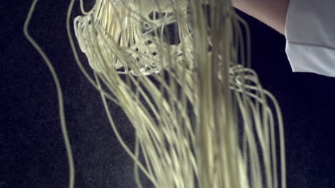 hd super slow-mo: making noodles - noodles stock videos & royalty-free footage