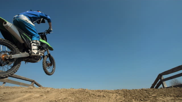 HD Super Slow-Mo: Motocross Dirt Jump