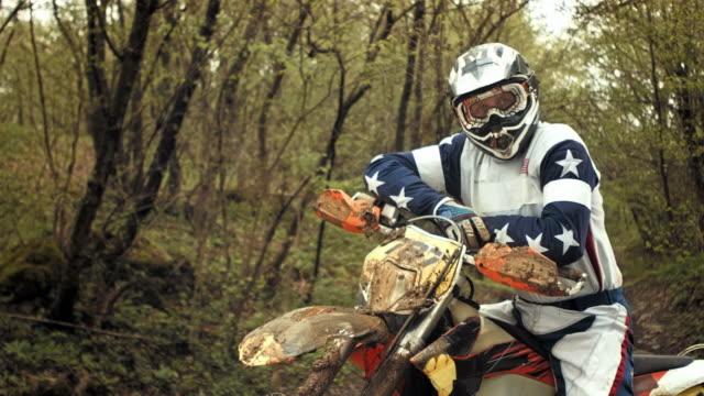 HD Super Slow-Mo: Portrait Of A Motocross Rider