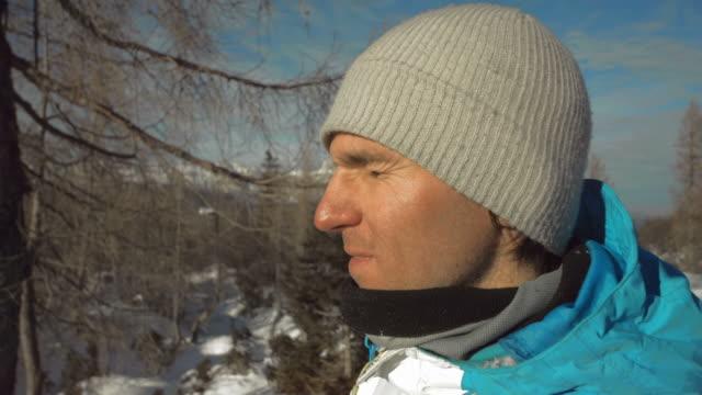 HD Super Slow-Mo: Snowball Hitting A Face