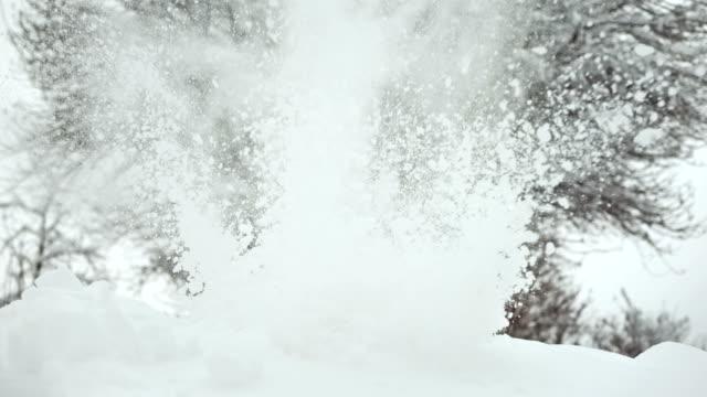 HD Super Slow-Mo: Snowy Explosion