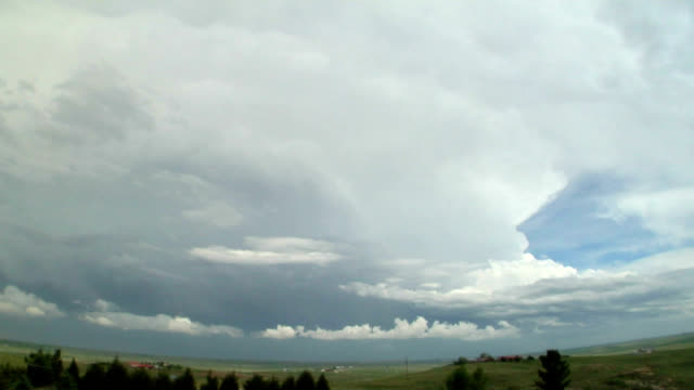 Supercell forming, timelapse