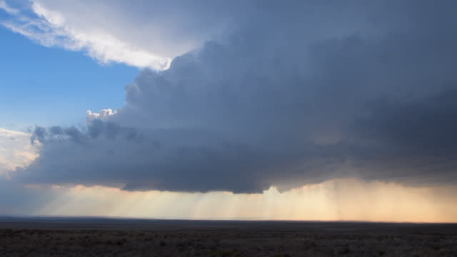 supercell thunderstorm - roswell stock videos & royalty-free footage
