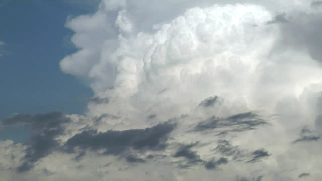 supercell updrafts, timelapse - stratocumulus stock videos and b-roll footage