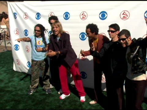 superlitio at the 2004 latin grammy awards arrivals at the shrine auditorium in los angeles, california on september 1, 2004. - latin grammy awards stock videos & royalty-free footage