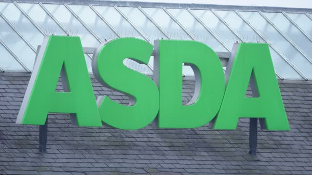 supermarket asda who parent company is walmart says it has begun consulting with workers over a major restructuring of the business which could put... - 4k resolution stock videos & royalty-free footage