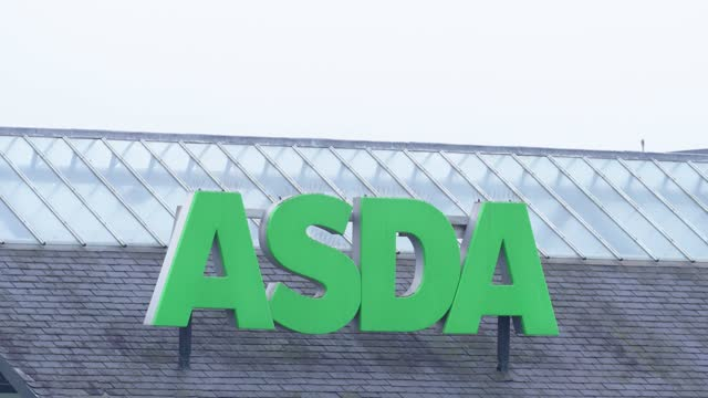 supermarket asda who parent company is walmart says it has begun consulting with workers over a major restructuring of the business which could put... - risk stock videos & royalty-free footage