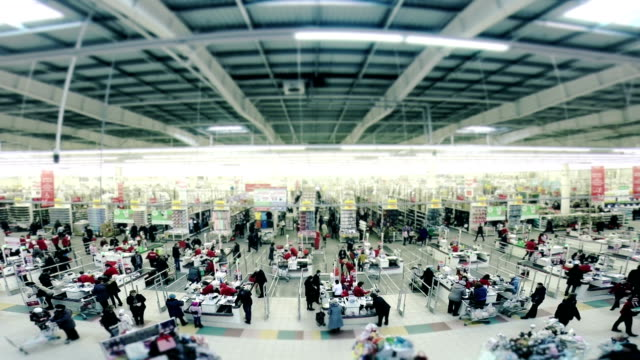 supermarket - wide angle stock videos & royalty-free footage