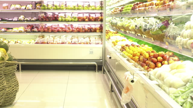 supermarket - aisle stock videos and b-roll footage