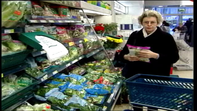 supermarkets facing inquiry into suspected unfair practices; date unknown general views of shoppers in supermarkets - general view stock videos & royalty-free footage