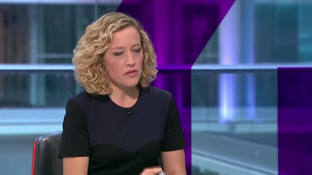 supermarkets withdraw egg products over insecticide fears england london gir int heather hancock interview sot re egg contamination cutaways reporter - cathy newman stock-videos und b-roll-filmmaterial