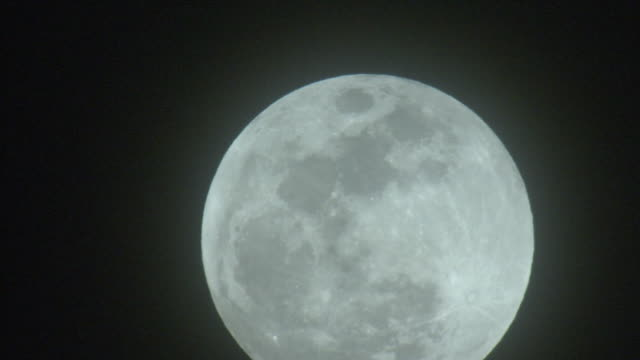 supermoon before jan 2018 lunar eclipse, tokyo, japan - jp201806 stock videos and b-roll footage