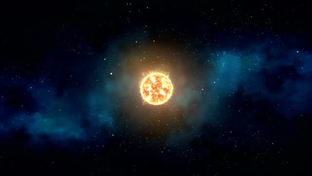 supernova deep space star explosion - supernova stock videos & royalty-free footage