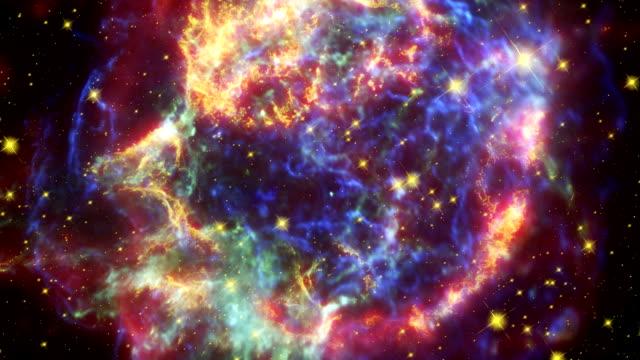 supernova remnant cassiopeia a - supernova stock videos & royalty-free footage