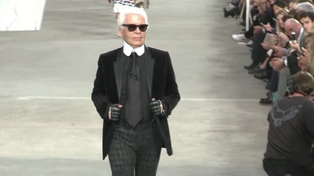 superstar designer karl lagerfeld has died at the age of 85 his fashion label chanel confirms - karl lagerfeld designer label stock videos & royalty-free footage