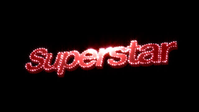 Superstar Glitz Text