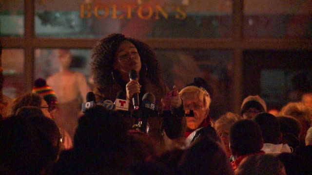 wjw supporters gathered in chicago on october 28 to honor the victims who in were killed the day before when robert bowers stormed into the tree of... - honor killing stock videos & royalty-free footage