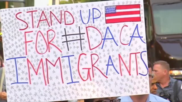 Supporters Hold Rally in Downtown Los Angeles
