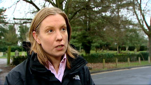 Supporters of fox hunting react angrily to government decision Surrey Tracey Crouch MP interview SOT Partly obscured shot of people Hound sniffing...