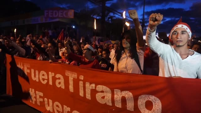 Supporters of Honduras opposition protested in the capital on Friday to demand their candidate Salvador Nasralla be declared the winner of a...
